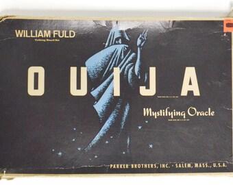 Vintage 60s Ouija Mystifying Oracle Parker Brothers Board Game
