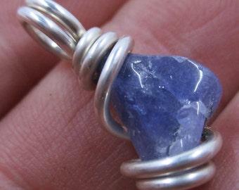 Tanzanite Pendant / Tanzanite Necklace / Crystal Necklace / Synergy 12 / Handmade Jewelry / Spiritual GROWTH / Powerful INDIGO Energy