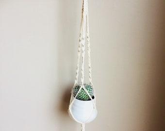 Macrame Hanging Planter - SPIRAL