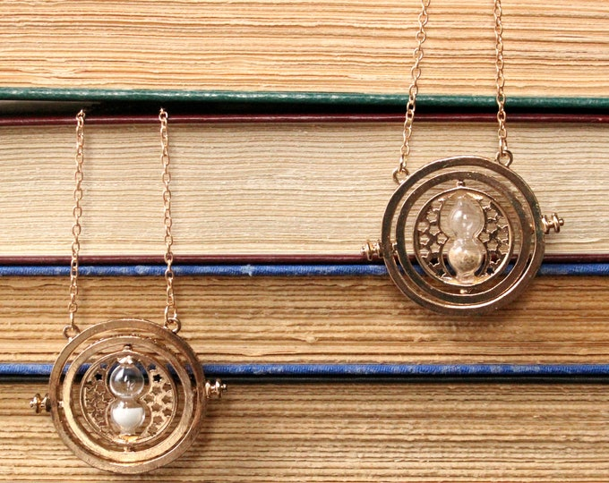 Hermione Inspired Hourglass Necklace