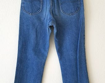 LEE Riders Denim 70s Jeans American Made USA 33x34