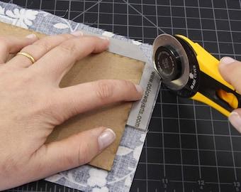 Bookbinding miter tool, Corner miter tool,  Cartonnage tool