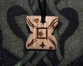 Star Wars Japor Snippet Wooden Pendant, Japor Snippet Necklace, Star Wars Jewelry, Star Wars Necklace, Star Wars Accessories, Anakin, Padmé