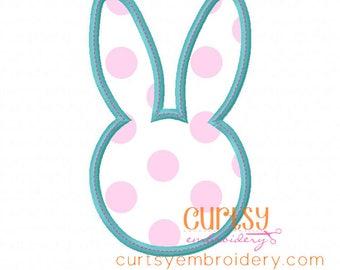 Bunny Embroidery Design, Bunny Applique Design, Easter Embroidery Design, Easter Applique Designs, Rabbit