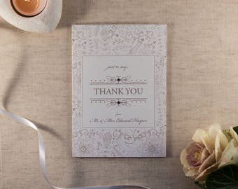 FLORENCE // Wedding Stationery // Thank You Card