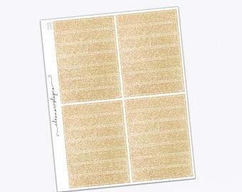 HEADERS 28 Gold glitter stickers — EC Vertical — 010
