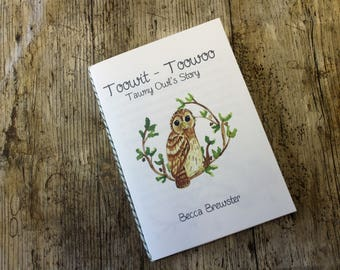 Toowit Toowoo Tawny Owl's Story   Wild Britain Book 1   Printable  Children's Book