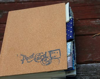 Postcard Altered Journal