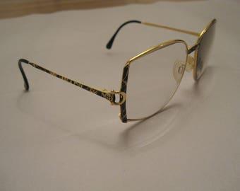 Gucci vintage glasses round Frames 80s Rare sunglasses