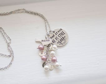 And if Not, He is Still Good - Drop Necklace for Mom Gift for Valentines Gift Necklace Daniel 3:18 - Bible Verse Jewelry