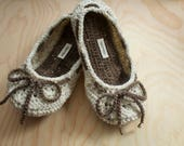 Adjustable Crochet Slippers Non-Skid