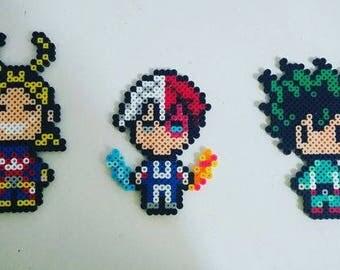 My Hero Academia perler bead designs