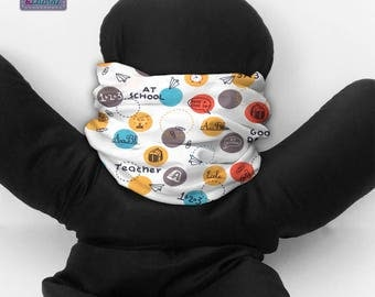 Tube neck warmer for kids or adults. B_143