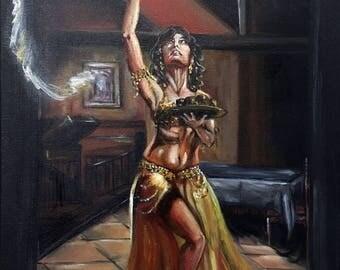 Sahira - Original Oil Painting