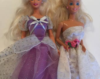 Princess Barbies Lot