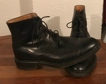 Bruno Magli Wing Tip Boots