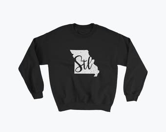 St. Louis Sweatshirt // St. Louis Sweater // Unisex Shirt // Roll Tide // Gift For Her // Gift For Him // The Busy Bee