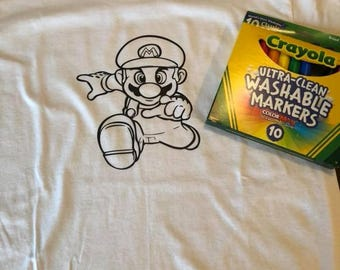 Kids Coloring Shirt