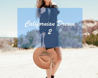 Californian Dream 2 Lightroom Presets for Bloggers