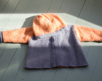 Baby Sweater and Hat Set