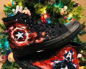 New Year Sale- Captain America Converse