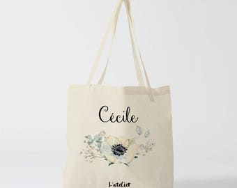 W131Y Tote bag personalized wedding canvas bag Tote, cotton bag, wedding bag, bridesmaid bag, custom bag, gift for wedding, bachelorette party bag