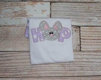 Bunny Toddler Easter Shirt for Child's Easter Outfit