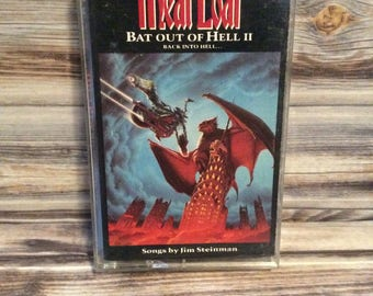 Meat Loaf - Bat Out Of Hell 2 : Back To Hell Tape Cassette