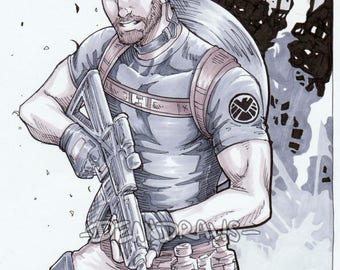 SHIELD Agent Steve (PRINT)
