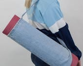 Denim Yoga Mat Bag