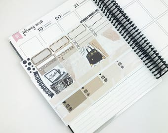 Hustle // Personal Kit (88 Planner Stickers)