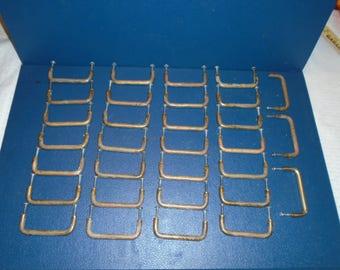 Brass Drawer Pulls.  31 Brass Drawer Pulls. Mid century brass drawer pulls. Mid century modern.  Drawer Pulls
