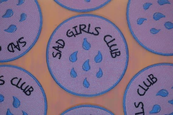 Sad Girls Club Iron on Patch