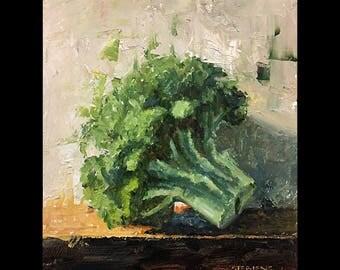 """Broccoli 6""""x8"""""""