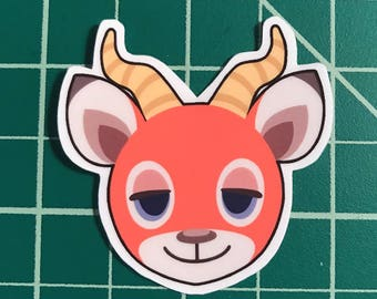 Animal Crossing Sticker | Beau
