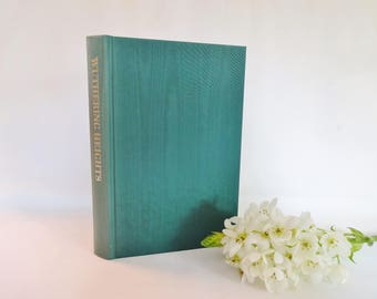 Wuthering Heights by Emily Bronte / The Folio Society of London, 1997 / Bound in Full Moire Silk / Illustrated / In Excellent Condition