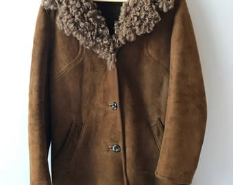Vintage Penny Lane Shearling Coat
