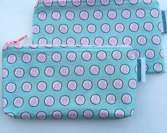 Pastel Kawaii Narutomaki Makeup, pencil, accessories Zippered Pouch.