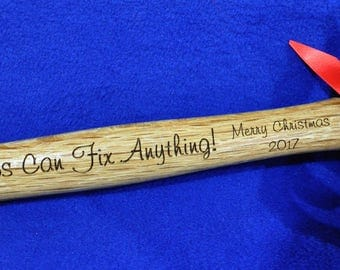 Christmas Gift For Grandpa ~ Engraved Hammer ~ Grandpa Gift ~ Christmas Gift For Dad ~ Custom Gifts ~ Grandfather Gifts ~ Christmas Gifts ~