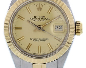 Ladies Rolex Oyster Perpetual Datejust 69173