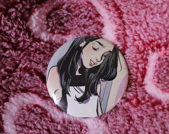 Coolgirl Pinback Button