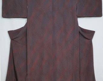 Women's, unused, vintage kimono - abstract plum blossom