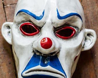 inspired of Clown Bozo Dark Knight Batman Joker Bane Mask cosplay Henchmen