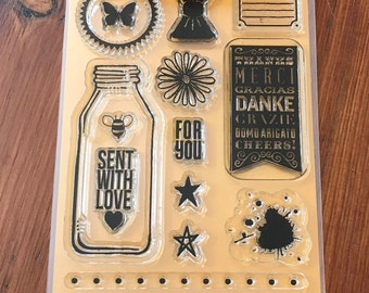 Studio Calico Marks & Co Card Kit Stamp Set