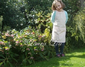 Children's 100% Cotton Apron - size Small
