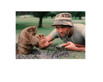 Bill murray 8 x 10 Signed Caddyshack Movie Photo