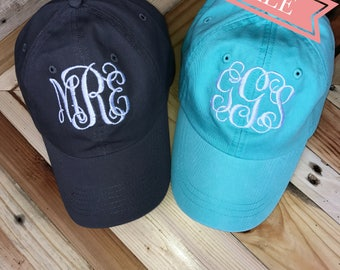 Monogrammed Baseball Cap // FLASH SALE Today ONLY // Personalized Baseball Cap // Monogrammed Hat // Baseball Hat // Bridesmaid Gift //