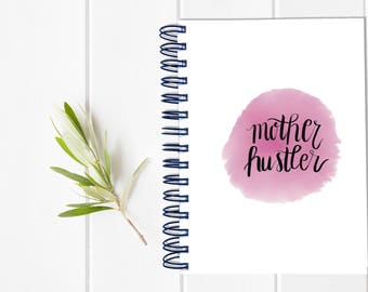 Small Sassy Mom Undated Planner - Bad Moms Day Timer - One Year Fill in Calendar - Weekly Planbook - Monthly Mom Boss Schedule Sister