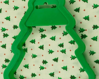 1989 Wilton Large Green Pine Tree Christmas Cookie Cutter Taiwan