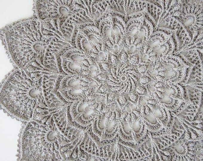 Crochet doily pattern IDA, Instant download